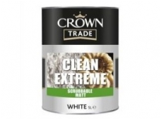 CROWN CLEAN EXTREME scrubbable matt 5ltr