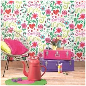 Kids&Teens II vaikiškų tapetų katalogas