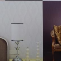 Dažomi viniliniai tapetai interjere