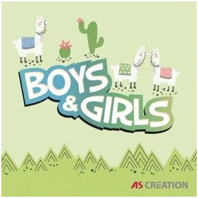BOYS AND GIRLS 6 užsakomų tapetų katalogas