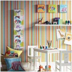 ARTHOUSE vaikiškų užsakomų tapetų katalogas Imagine Fun