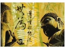 AP DIGITAL fototapetai 470003 Buddha Glow