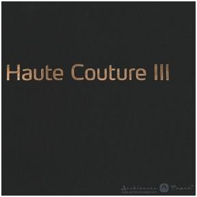 HAUTE COUTURE 3 katalogas