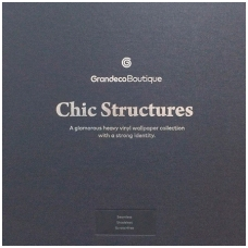 CHIC STRUCTURES užsakomų tapetų katalogas