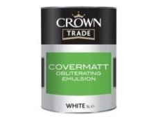 CROWN COVERMATT obliterating emulsion 5ltr