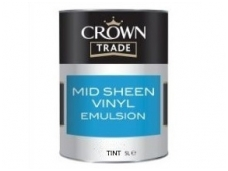 CROWN MID SHEEN VINYL EMULSION TINT base 5ltr