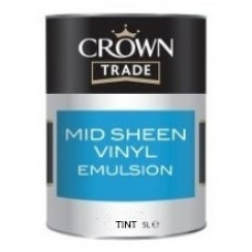 CROWN MID SHEEN VINYL EMULSION TINT base 5ltr