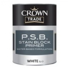 CROWN P.S.B. STAIN BLOCK PRIMER 5ltr