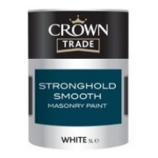 CROWN STRONGHOLD SMOOTH masonry paint 5ltr