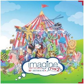 ARTHOUSE vaikiškų užsakomų tapetų katalogas Imagine Fun 2