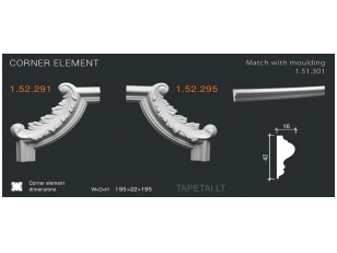 Kampinis elementas 1.52.291,1.52.295