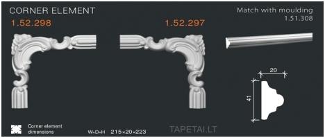 Kampinis elementas 1.52.297,1.52.298