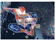 KOMAR fototapetai 1-426 Spider-Man Neon