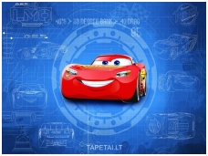KOMAR fototapetai 8-488 Cars 3 blueprint