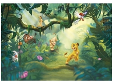 KOMAR fototapetai 8-475 Lion King jungle