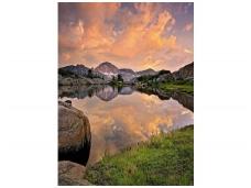 KOMAR fototapetai 4-734 Alpengluhen