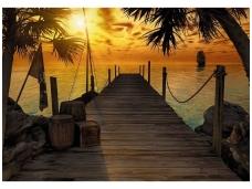 KOMAR fototapetai 8-918 Treasure Island