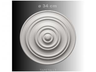 Lubų rozetė poliuretaninė 1.56.014