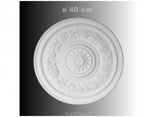 Lubų rozetė poliuretaninė 1.56.038