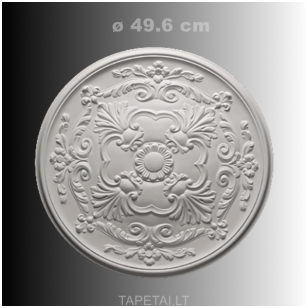 Lubų rozetė poliuretaninė 1.56.024