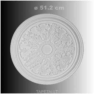 Lubų rozetė poliuretaninė 1.56.034