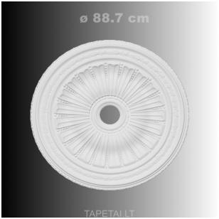Lubų rozetė poliuretaninė 1.56.036