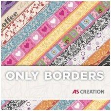 ONLY BORDERS 10 užsakomų dekoratyvinių juostelių katalogas