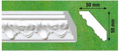 Polistiroliniai lubų apvadai G11 2m