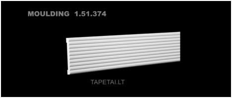 Poliuretaniniai moldingai 1.51.374 , ilgis 2m