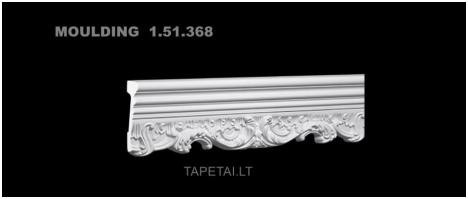 Poliuretaniniai moldingai 1.51.368 , ilgis 2m