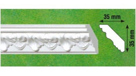 Polistiroliniai lubų apvadai G1 2m