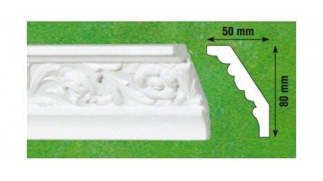 Polistiroliniai lubų apvadai G13 2m