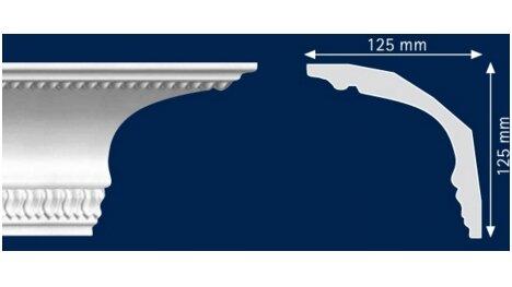 Polistiroliniai lubų apvadai G19 2m