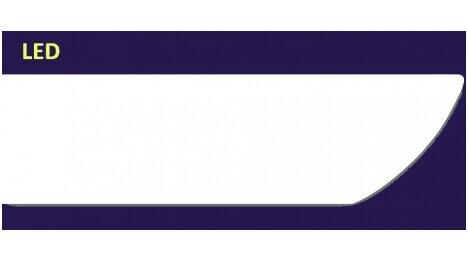 Polistiroliniai lubų apvadai DANA 2m