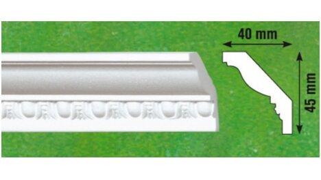 Polistiroliniai lubų apvadai G2 2m