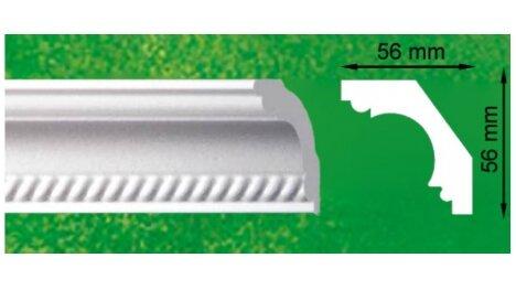 Polistiroliniai lubų apvadai G3 2m