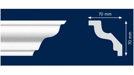 Polistiroliniai lubų apvadai M100 2m