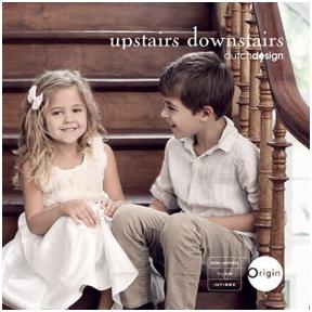 UPSTAIRS DOWNSTAIRS užsakomų tapetų katalogas