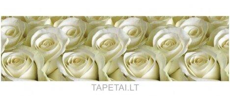 Virtuvės sienelė 117 Baltos rožės