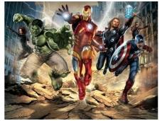 WALLTASTIC fototapetai Avengers
