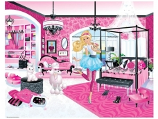 WALLTASTIC fototapetai Barbie