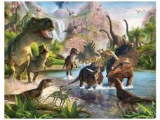 WALLTASTIC fototapetai Dinoland