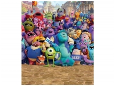 WALLTASTIC fototapetai Disney Monsters University