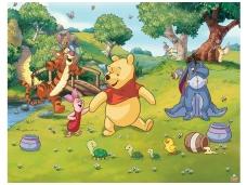 WALLTASTIC fototapetai Disney Winnie The Pooh