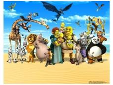 WALLTASTIC fototapetai DreamWorks