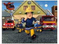 WALLTASTIC fototapetai Fireman Sam