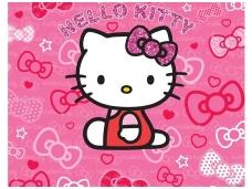 WALLTASTIC fototapetai Hello Kitty