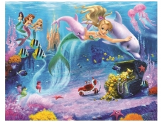 WALLTASTIC fototapetai Mermaids