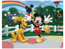 WALLTASTIC fototapetai Mickey Mouse Clubhouse