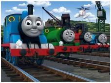 WALLTASTIC fototapetai Thomas & Friends